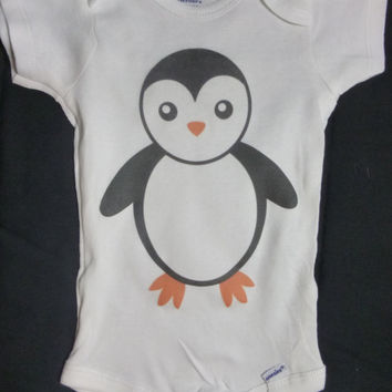 Cute Baby Onsie- PENGUIN
