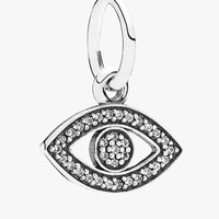 Women's PANDORA 'Symbol of Insight' Evil Eye Dangle Charm