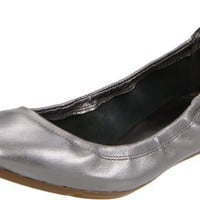 Cole Haan Women`s Air Jenni Ballet Flat,Dark Silver Metal,8.5 B US