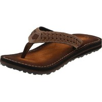 Clarks Women`s Plymouth Flip Flop,Brown,8 M US