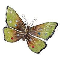 Oversized Butterfly Metal Wall Sculpture