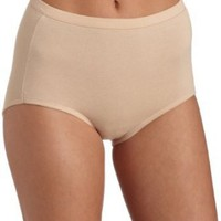 Bali Women's Fit Your Curves Cotton Stretch Brief