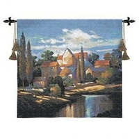 Fine Art Tapestries Autumn Memories Tapestry - Max Hayslette - 2704-WH - Decor