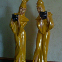 FigurinesStatuesVintage FigurinesComedy and by augiesvintagefinds
