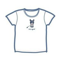 Life is Good Short Sleeve Sleep Tee for Girls