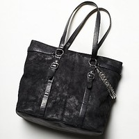Ash Womens Ash Axel Tote - Black Steel One