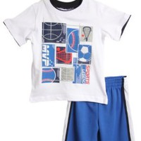 NWT Kid Boys 2 pc basketball shirt and shorts set