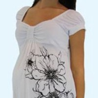 Maternity Top - Short Sleeve - Mommy Paradise