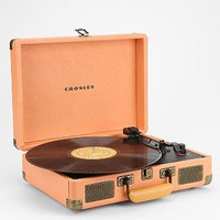 Crosley Cruiser Turntable UK Plug in Peach - Urban Outfitters