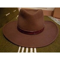Clint Eastwood Spaghetti Western Stetson Hat Cowboy - Size Large (22 5/8` - 23`) - Western Movie Prop