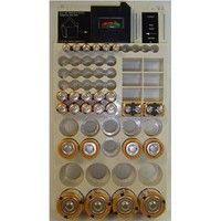 Range Kleen WKT4162 66-Battery Organizer with Removable Tester