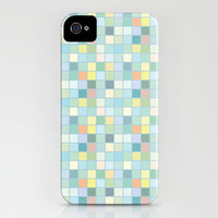 Pastel squares iPhone Case by Anita Ivancenko | Society6