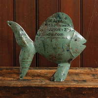 Reclaimed Metal Fish
