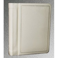 Professional Slip in 4x6 Wedding/parent Album Off White Embossed Holds 24 Photos (5x7 opening)