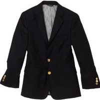 Ike Behar Boy`s 8-20 2-Button Blazer
