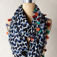 Quilted Ikat Scarf