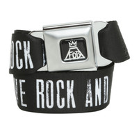 Fall Out Boy Save Rock And Roll Seat Belt Belt