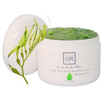 L'or de la Mer Organic Anti Cellulite Body Blaster Scrub with Seaweed, 12oz