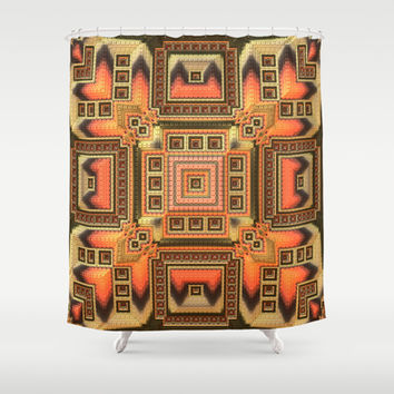 Cozy Blanket - Shower Curtain by Lyle Hatch | Society6