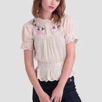 Penny Embroidered Blouse