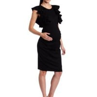 MORE of me Women's Maternity Maternichic Dress