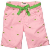OshKosh B`Gosh Pink Butterfly Bermuda Shorts