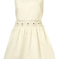 Cream Flower Crochet Insert Sundress - Dresses - Clothing - Topshop USA