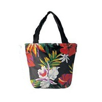 Polyester Tote Bag / Tropical Flower / Small