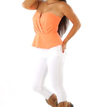 Crazy Little Thing Called Love Top: Bright Orange