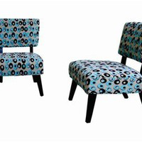 Patterned Accent Chair, Modern Accent Chair, Living Room Furniture: Nyfurnitureoutlets.com
