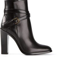 Saint Laurent 'hunting 105' Ankle Boots - Pl-line - Farfetch.com