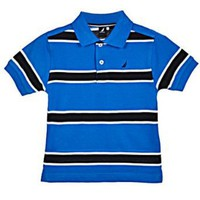 Nautica `Bavier` Pique Polo (Sizes 2T - 4T)