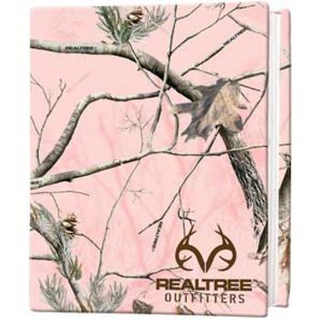 Realtree Outfitters AP Pink Camo Stretch Book Cover