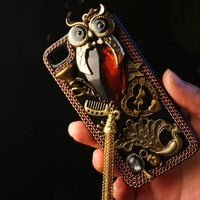 Unique and stylish Vintage Iphone Case iPhone 4s case  by alec8211