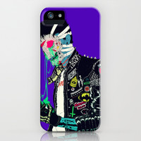 Slime iPhone & iPod Case by Boneface