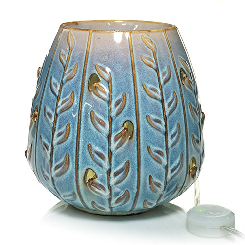 Blue viola vine scenterpiece™ warmer from the yankee candle