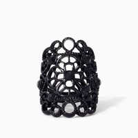 Edwardian Filigree Knuckle Ring | Jewelry | charming charlie