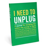 I Need to Unplug Guided Inner Truth Journal - Technology Free Journal