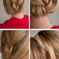 Hair Romance: 30 Days of Twist &amp; Pin Hairstyles &amp;#8211; Day 18