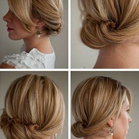 Hair Romance: 30 Days of Twist & Pin Hairstyles – Day 14