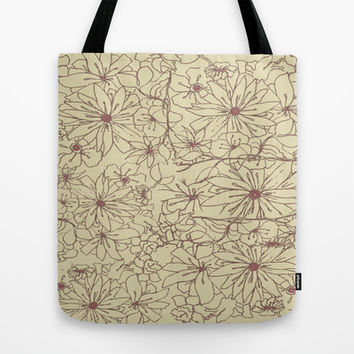 May Flowers Tote Bag by tracimaturo