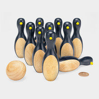 MUJI Mini Penguin Bowling Set