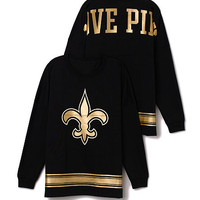 New Orleans Saints Varsity Crew - PINK - Victoria's Secret