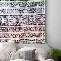 Magical Thinking Rainbow Paisley Tapestry- Multi One