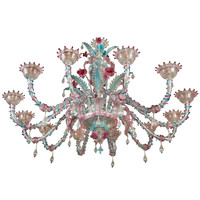 1950s Handblown Murano Glass Chandelier