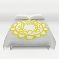 Sunflower Duvet Cover by Cecilia Andersson