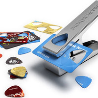 Clever Pickmaster Plectrum Punch Turns Credit Cards Into Guitar Picks | Inhabitat - Green Design Will Save the World