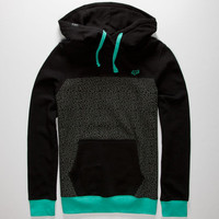 Fox Bronson Mens Hoodie Black  In Sizes