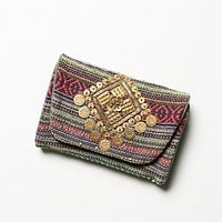 Free People Womens Embellished Travel Case