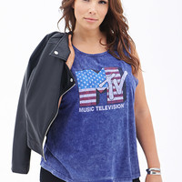 MTV Graphic Muscle Tee